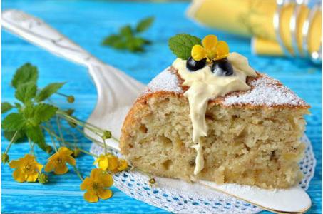 Как быстро приготовить банановый пирог с творогом в мультиварке для сладкоежек