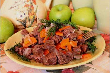 Аппетитный рецепт говядины в мультиварке
