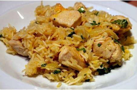 Рецепт приготовления рассыпчатого плова с курицей в мультиварке Поларис