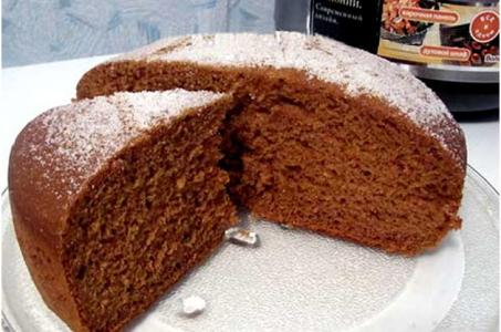 Медовый легкий пирог в мультиварке ждет вас