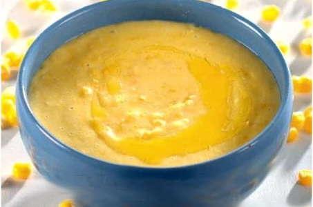 Вариант приготовления кукурузной каши на воде в мультиварке Редмонд