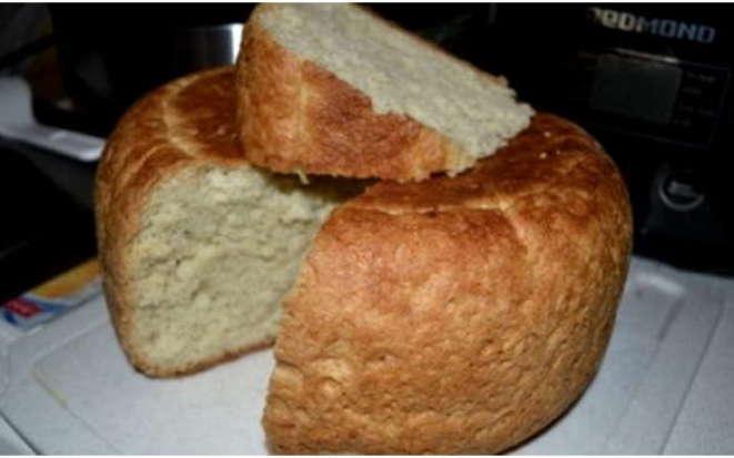 Рецепт воздушного и очень вкусного белого хлеба в мультиварке Редмонд