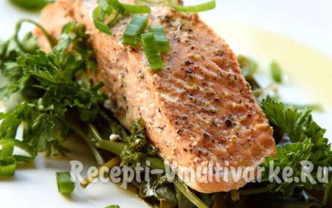 Вкусные рецепты приготовления лосося в мультиварке