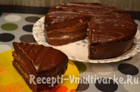 Рецепт торта Прага по классическому рецепту в мультиварке