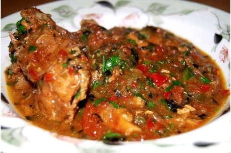 Рецепт нежного чахохбили из курицы в мультиварке Редмонд