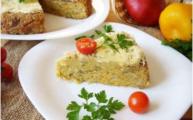 Нежнейшая капустная запеканка или «ленивый пирог» в мультиварке