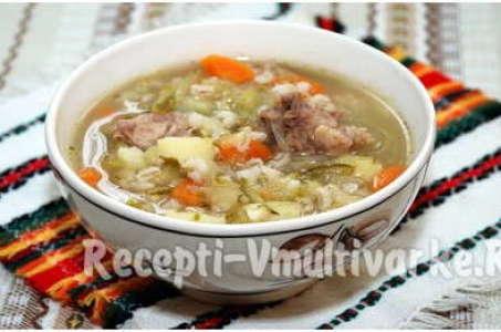 Простой рецепт вкуснейшего супа с перловкой для любой мультиварки