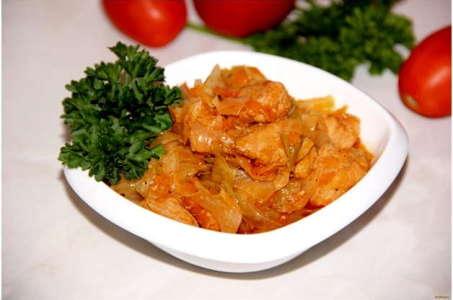 Как вкусно приготовить тушеную капусту в мультиварке Поларис