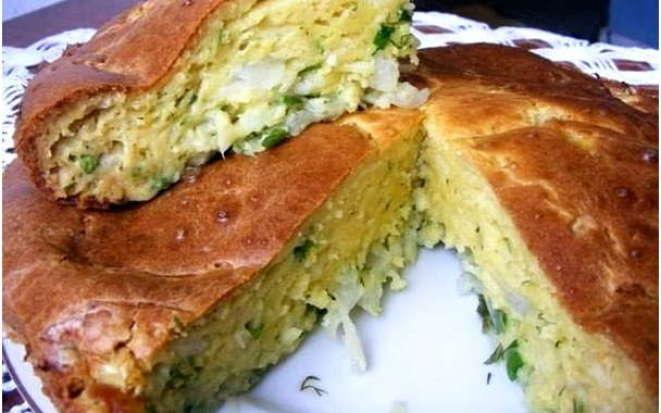 Рецепт нежного пирога с капустой в мультиварке Редмонд