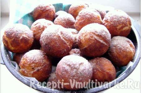 Простой рецепт аппетитных пончиков, приготовленных в мультиварке