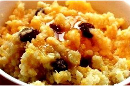 Рецепт ароматной рисовой каши с тыквой в мультиварке Редмонд
