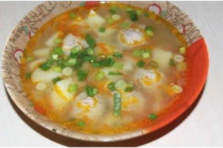 Простой рецепт вкусного супа с фрикадельками в мультиварке Редмонд