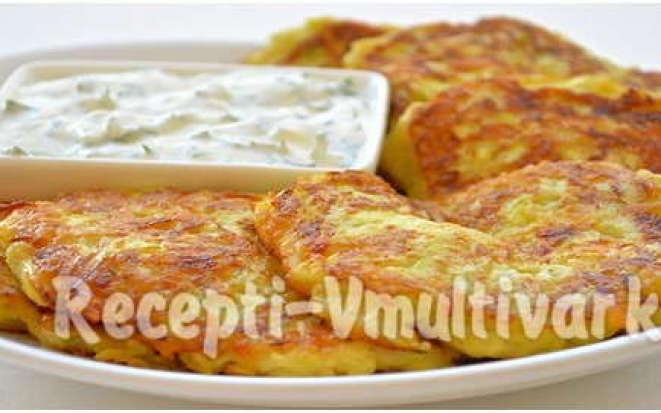 Лучший завтрак – оладьи из кабачков, приготовленные в мультиварке
