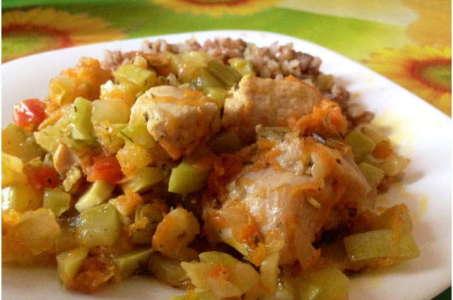 Умопомрачительный рецепт курицы с овощами в мультиварке