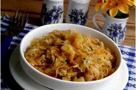 Рецепт вкусной диетической солянки из капусты в мультиварке