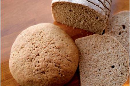 Бездрожжевой хлеб из ржаной и пшеничной муки в мультиварке