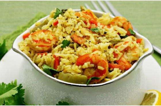 Замечательный рецепт приготовления риса с морепродуктами в мультиварке