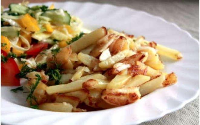 Рецепт аппетитной жареной картошки в мультиварке Редмонд