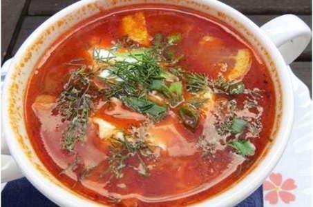 Рецепт аппетитной солянки в мультиварке Поларис
