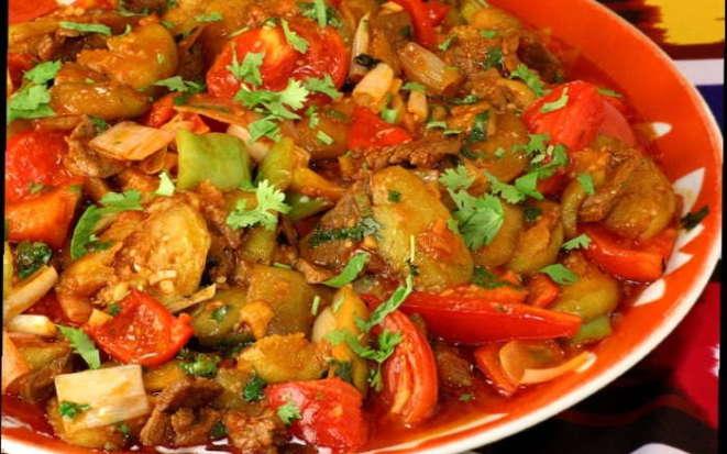 Как приготовить аппетитные тушеные овощи с мясом в мультиварке