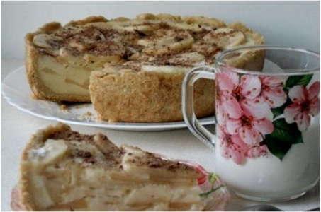 Рецепт Цветаевского яблочного пирога в мультиварке Редмонд