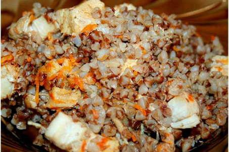 Рецепт гречки с курицей в мультиварке Редмонд