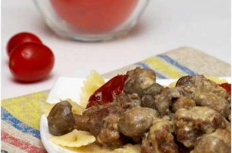 Сказочно вкусный рецепт мяса с грибами в мультиварке