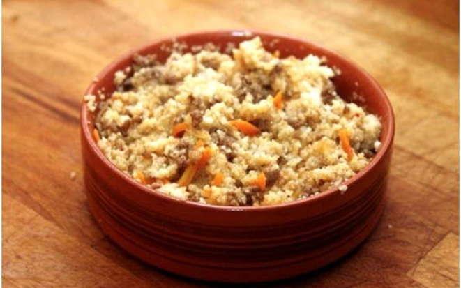 Как сварить вкусную пшеничную кашу с мясом в мультиварке Поларис