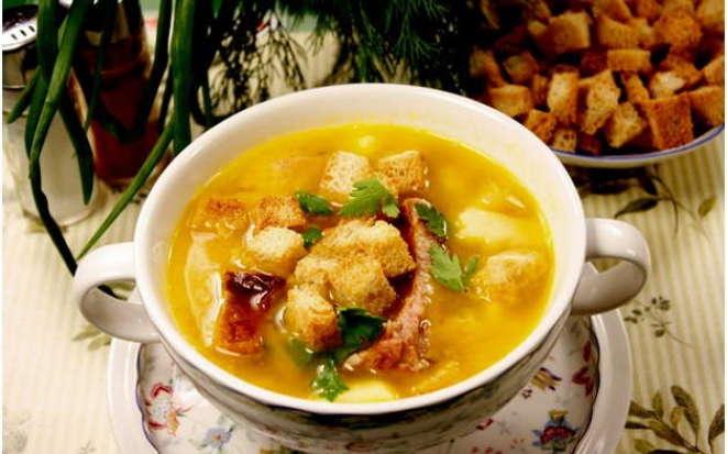 Рецепт насыщенного горохового супа в мультиварке Филипс