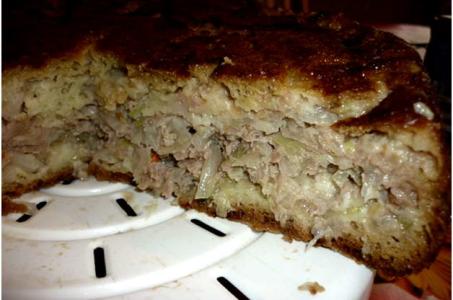 Как приготовить сочный мясной пирог в мультиварке