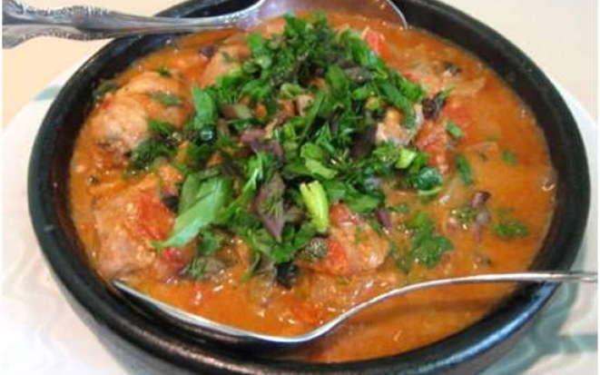 Рецепт приготовления вкусного супа харчо в мультиварке Поларис