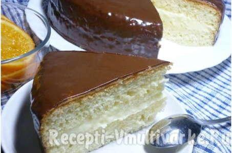 Рецепт торта Чародейка с нежным масляным кремом в мультиварке