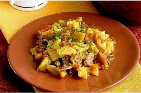 Рецепт вкуснейшего картофеля с овощами, приготовленного в мультиварке