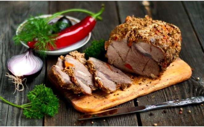 Правильная буженина, или как запечь мясо в рукаве в мультиварке