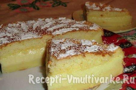 Готовим нежный холодный десерт в мультиварке: Умное пирожное