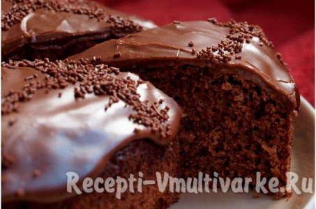 Рецепт приготовления шоколадного кухена в мультиварке