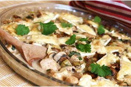 Вкуснейшее сочетание курицы и грибов в мультиварке