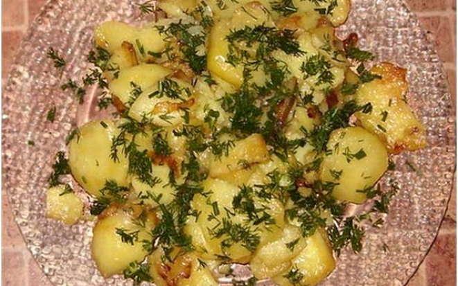 Готовим вкуснейшую жареную картошку в мультиварке Поларис