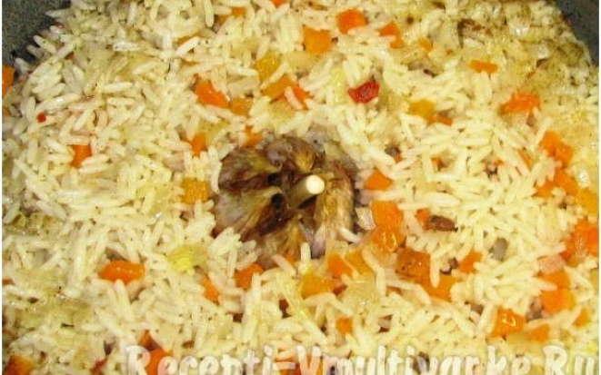 Вкусный способ приготовления риса с овощами в мультиварке
