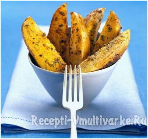 вкусный зажаристый картофель фри