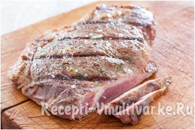вкусный кусочек мяса