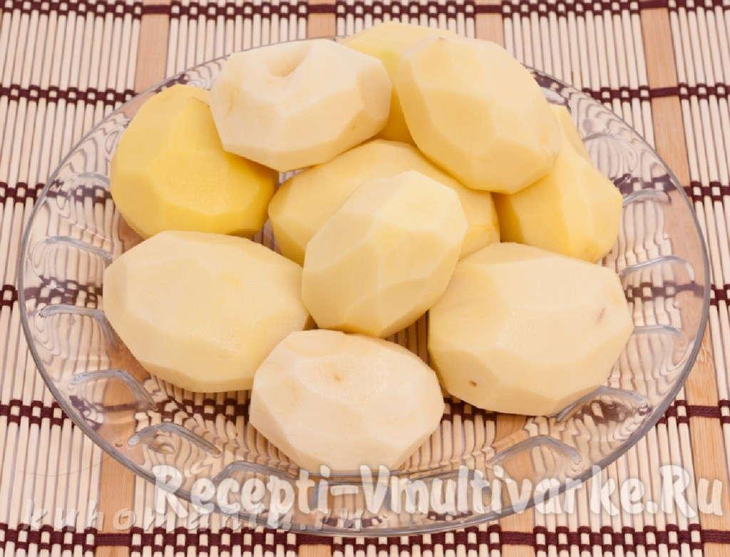 почистить картошку