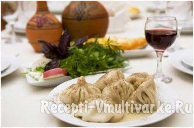 популярное грузинское блюдо