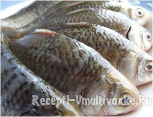 рецепты из рыбы карася в мультиварке с фото
