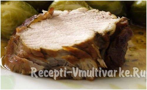 сочный кусок аппетитного мяса