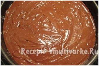 намазать шоколадом