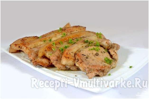 свиная корейка в мультиварке рецепт с фото