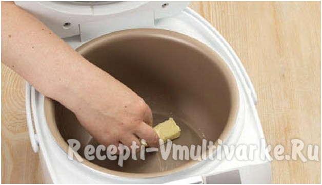 промазать маслом