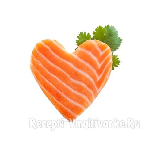 рыбное сердечко