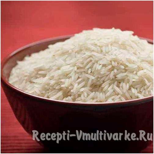 возьмите тарелку риса